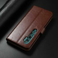 For Xiaomi Mi Note 10 CC9 Pro Flip Leather Wallet Stand Case Soft TPU Cover