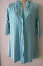 Mela Purdie aqua hooded blouse/jacket , AUS size (S) 10, NEW WITH TAGS