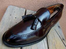 ALDEN Mens Dress Shoes Genuine Shell Cordovan Burgundy Tassel Loafers Size 11B