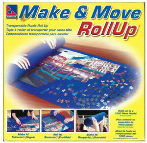"""Sur-Lox """"Make & Move Roll Up"""" Felt Puzzle Storage (up to 1000 Piece)"""