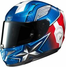 HJC RPHA 11 CAPTAIN AMERICA MOTORCYCLE HELMET- LARGE
