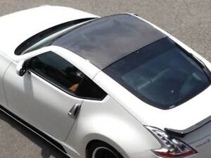 CARBON FIBER RACING ROOF HARD TOP PANEL COVER FOR NISSAN 370Z (MADE IN JAPAN)