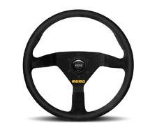 MOMO Steering Wheel Mod 78 Black Suede Leather 350mm