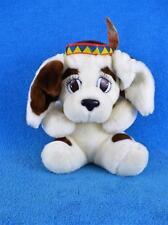 """Chosun Dog History Hound 10"""" Plush w/Indian Headband 1986 - Mint !"""