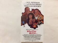 When Time Ran Out VHS 1980 - Irwin Allen, Paul Newman - Disaster Thriller Drama