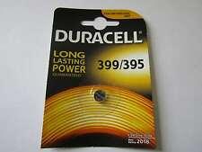 1x 399/395 silver oxyde watch battery 1,55V SR927W Duracell e AR1661