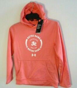 Under Armour University of Notre Dame Irish youth girls hoodie sweatshirt shirt