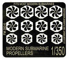 Flagship Models FM 350-6 Modern Submarine Propellers