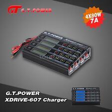 G.T.POWER X-DRIVE 607 4*80W LiIo/LiPo/NiMH Battery Balance Charger Durable 6K3Y