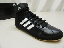 Adidas Wrestling HVC Youth Laced Wrestling Shoe Little Kid Sz 2 BLACK Q33839