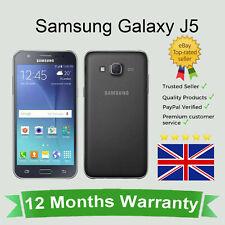 Unlocked Samsung Galaxy J5 Dual J500F Cellular Android Mobile Phone 8GB Black UK
