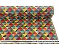 Luxury New World Tapestry Fabric Big Holland Geometric Upholstery Curtain