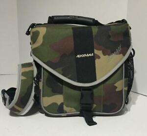 Adorama Slinger Oversized Large Camera Bag Case Back Pack Slingbag Black camo
