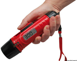 HawkEye DepthTrax 1H Handheld Depth Finder Sounder DT1H Sonar Water Temperature