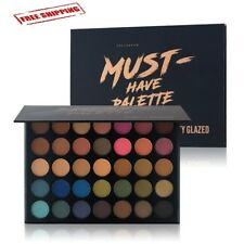 Morphe Pro 35 Color Eyeshadow Makeup Palette GLAM High Pigmented All Skin New