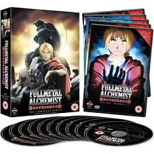 Fullmetal Alchemist Brotherhood - The Complete Series - Dvd - Anime - New