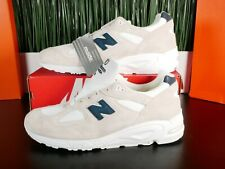 New Balance 990v2 Made In USA Beige Angora Mens Shoes M990WE2 Size 13