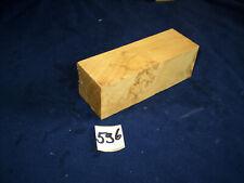 Robinie Maser Maserholz Messergriffblock   feine Drechselarbeit Nr: 596