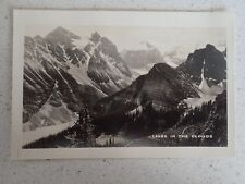 Vintage Real Photo Postcard Moraine Lake Alberta Canada  (L15)