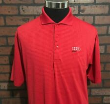 Audi Short Sleeve Men's Polo Shirt Size Small