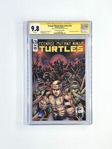 Teenage Mutant Ninja Turtles #95 Montreal Variant CGC 9.8 Signed By Eastman