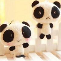 NEU 10cm Pandabär Tier Plüschfigur Kuscheltier Stofftier PANDA Z5Q7 M9D3