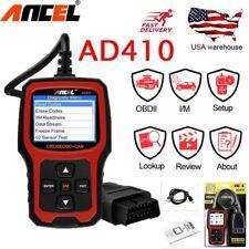 ANCEL AD410 OBDII Vehicle Engine Code Reader Erase codes Scanner Diagnostic Tool