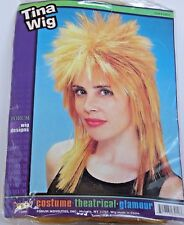 Tina Turner Like Glamour Theatrical Wig Halloween Costume Party Trick Or Treat