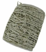 Leather Barbed Wire Cord Cream