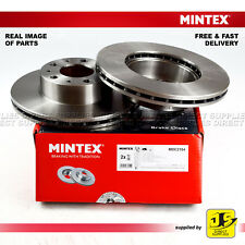 2X MINTEX FRONT DISC BRAKES MDC2154 FIAT PEUGEOT BOXER BOX/BUS/ PLATFORM/CHASSIS