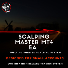 Scalping Master MT4 Trading Robot Fully Automated Trading System 2019