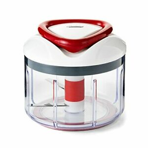 Easy Pull Food Chopper and Manual Food Processor Vegetable Slicer and Dicer New