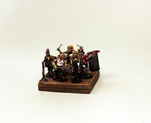 Alternative Armies-25mm-Orc Rock Band-Unpainted-Tabletop Games Fantasy Minis