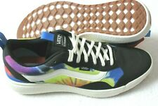 Vans Women's UltraRange Exo Tie Dye  Trail Shoes Black Marshmallow Size 6,5 NIB