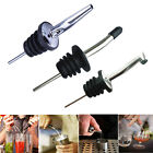 Liquor Spirit Pourer Flow Wine Bottle Pour Spout Stopper Stainless Steel Cap