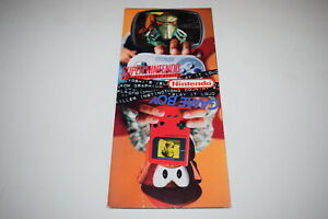 Try and Beat This Nintendo 1995 Super SNES Game Boy Video Game System Catalog