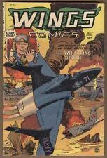 Wings #119 Spring 1952 Vg