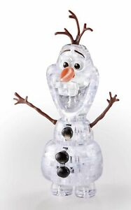 Hanayama Crystal Gallery 3D Puzzle Disney Frozen Olaf 39 Pieces