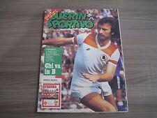 Settimanale  GUERIN SPORTIVO  n° 18  del 1979    Inserto Perugia