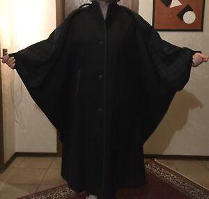 Damen Loden Wetterfleck/Mantel mit Schaltuch zum Abnehmen