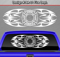 #152 Custom Back Window Sticker Decal Tribal Graphic