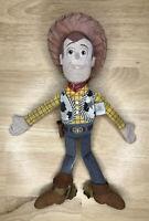"Disney Pixar Toy Story Sheriff Woody Plush Fabric Soft Doll Stuffed 12"""