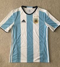 AUTHENTIC ARGENTINA 2016 HOME FOOTBALL SHIRT SOCCER JERSEY ADIDAS XL