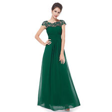 Ever-Pretty Bridesmaid Wedding Long Maxi Party Dress 09993 Size 4 Dark Green 10