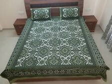 New Year Gift Printed Double Bed-sheet With Two Pillow Covers 100% Cotton