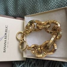BANANA REPUBLIC Gold Women's Chain Link Bracelet