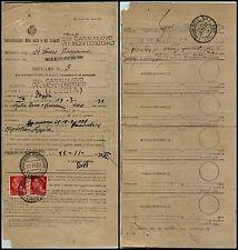 REGNO-Reclamo vaglia tasse/concessioni-20 (247)Casalnuovo Monterotaro 22.11.1932