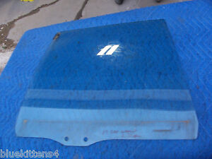 1987 1988 1989 CHEVY CAPRICE ESTATE WAGON RIGHT REAR DOOR WINDOW GLASS USED OEM