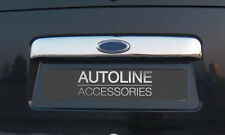CHROME REAR DOOR HANDLE TAILGATE TRIM COVER FOR FORD TOURNEO CONNECT 02-13