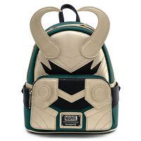 Loungefly Marvel Loki Classic Cosplay Mini Backpack NEW